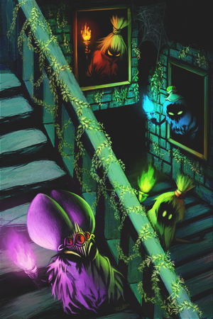 Ocarina of Time: Poe Sisters by ruina