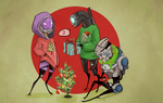 Christmas Effect by Aelwen