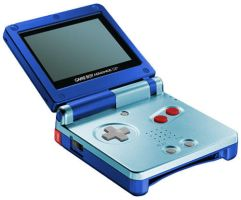 Megaman X Gameboy Advance SP by Gradendine