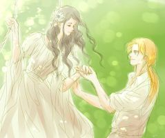 Elwing and Earendil by MintKim