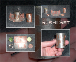 Sushi Set by rebootmaster2001
