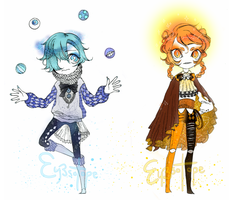 Galaxy Circus Adoptables #1 [OPEN - discount] by eyesotope
