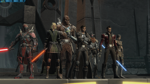 Swtor: Captain Vergil and the Coalition by DanteDT34