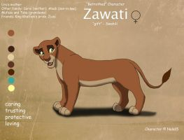 Zawati Ref Sheet by Nala15