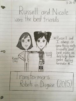 Russell and Nicole are BFF by Nkong775