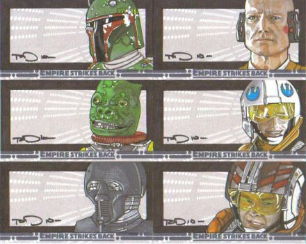 Empire sketch cards batch 3 by NORVANDELL