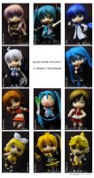 Vocaloid Set by ILICarrieDoll