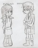 SPOILERS:HTTYD-Pips and Hiccup by sailor663