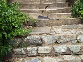 Stone Stairs by Lunar-lce
