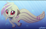 Will you swim with me? :3 by Feneksia-Creations