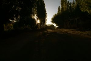 Sunset road by rjk013