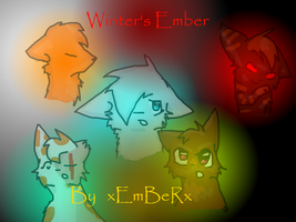 Winter's Ember Front Cover by Emberdahkitteh