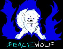 Burning Blue - New ID Picture by PeaceWolfLegacy