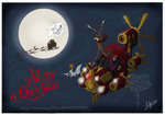 Steampunk before Christmas by MecaniqueFairy