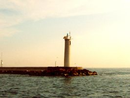 lighthouse by hich-stock