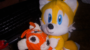 Tails Doll's New Buddy by RaeLogan