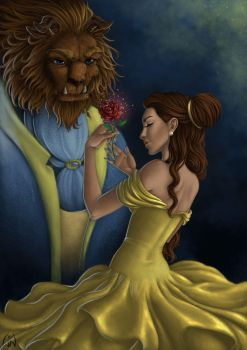 -Beauty and the Beast- by Wictorian-Art