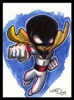 Lil Space Ghost Card by lordmesa