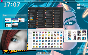 Tema para Windows 7 Clear Girl -2 by 117fausto