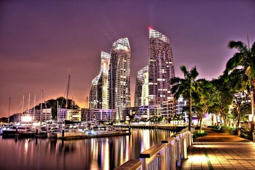 The Reflections at Keppel Bay Singapore by Starlight-Aurora