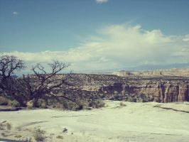 Utah Desert Landscape 3 by morbidromantic