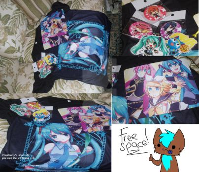 Comic Fiesta stuffs by Banana-Fillia
