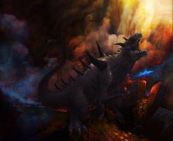 In the Shadow of Extinction - THE TYRANT by awfulowafalo