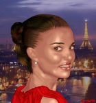 Portman in Paris by cordefr