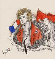Enjolras by xxIgnisxx