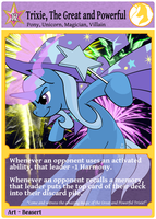 Trixie, the Great and Powerful by beasert