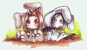 ::Easter Bunnies 2007:: by oliko