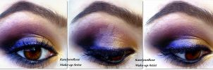 New year's eve make-up idea 3 by KatelynnRose