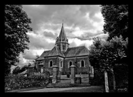 Balleroy - chapel by Mademoiselle-P