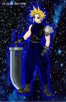 Cloud Strife by SpiffyMai