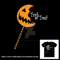 Trick Or Treat Pop Tshirt by xx-trigrhappy-xx