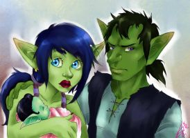 the goblin family by AngelKittyKatMeow