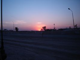 sunset in tikrit by desert-hedgehog