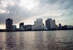 Downtown New Orleans, LA by celticpath