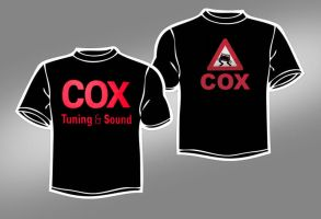 COX TUNING AND SOUND T-SHIRT by LEEL00