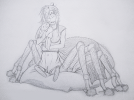 Day 6: Spider Girl by Faeyne-Silvercloud