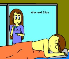 Alan and Eliza - A nice morning by TheAdamBryant