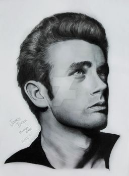 James Dean by maddisonhodges
