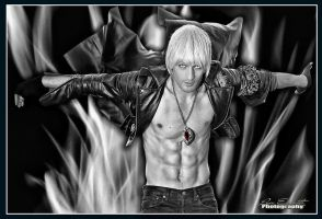 Dante Cosplay - Devil May Cry 3 Freestyle Picture by LeonChiroCosplayArt