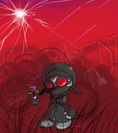 Madness Combat - flower by kaizokupiano