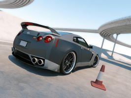 Nissan GTR Tuned 7 by LucianP