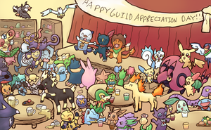 PMD - Guild Appreciation Day by Reshidove