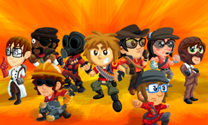 Mii Fortress 2 by SmashToons