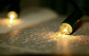 x - Widescreen Book and Lights by TriinErg