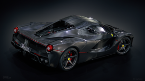 LaFerrari Bare Carbon by GranDosicua