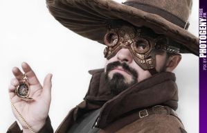Steampunk Clock by photogeny-cosplay